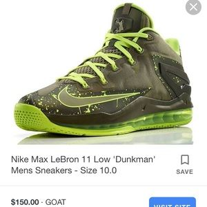 Nike Shoes - Labron James 11 low dunk man